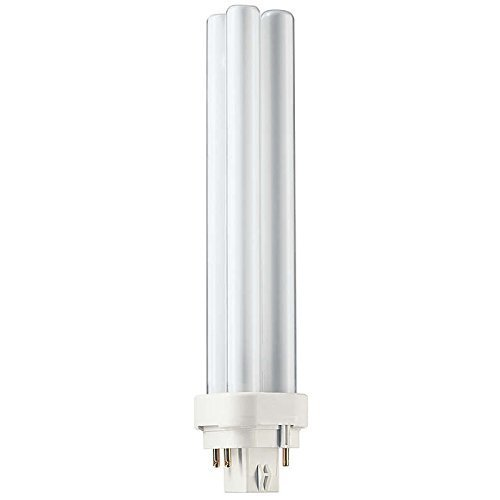 (10 Pack) Philips Lighting 38336-4 - PL-C 26W/835/4P/ALTO - 26 Watt CFL Light Bulb - Compact Fluorescent - 4 Pin G24q-3 Base - 3500K ()