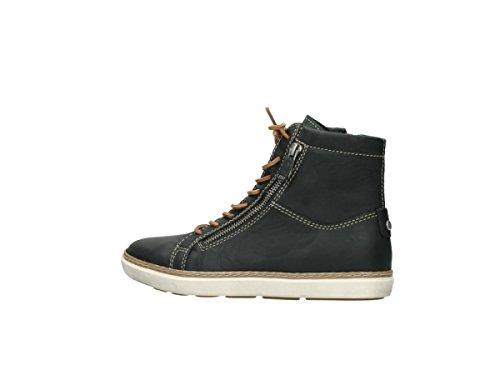 black Wolky 500 KA leather Sandali tw87A