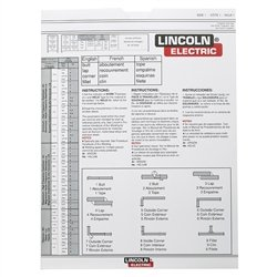 Lincoln Electric Tig Slide Rule