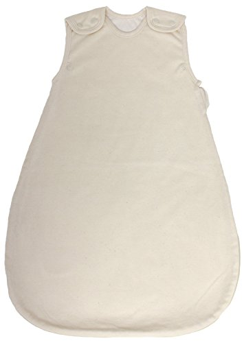 100% GOTS Certfied Organic Cotton, Summer Model, 1 Tog, Baby Sleeping Bag - Sleep Sack (Medium (10 - 24 mos)) Organic Sleepsack