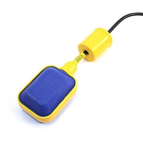 Interruptor de flotador de nivel de líquido del agua del sensor del control de bomba para depósitos de 2.85m: Amazon.es: Bricolaje y herramientas