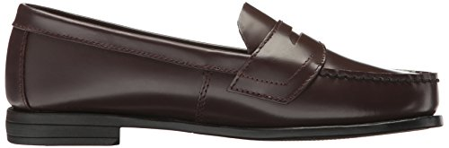 Eastland Women's Classic II Penny Loafer, Black Leather, 11 M US Burgundy
