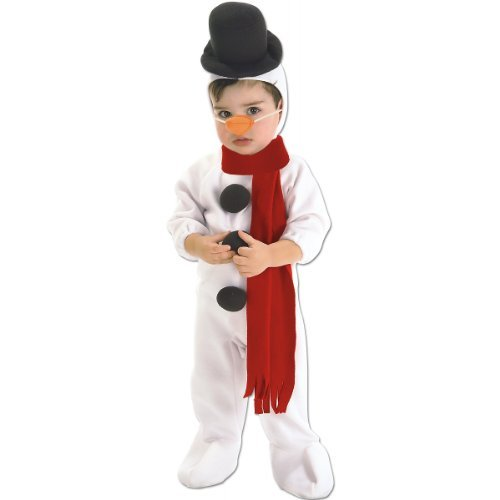 (Rubie's Costume Co Snowman Costume, Toddler,)