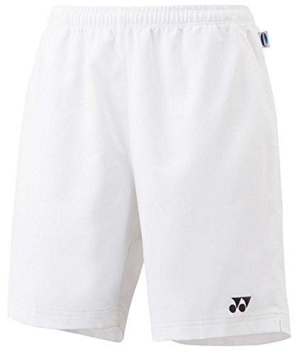 YONEX Short pour Homme ys2000ex–Blanc–M