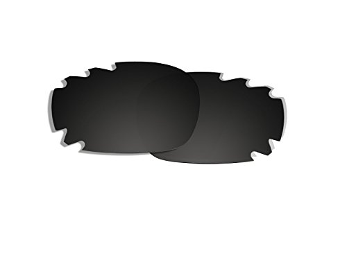 Black Polarized Replacement Lenses for Oakley Jawbone Vented - Frame Jawbone Oakley