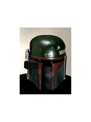 - Collector One-Piece Boba Fett Helmet Costume Accessory