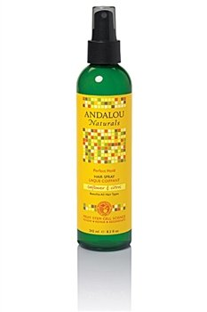 Andalou Naturals Sunflower & Citrus Hair Spray, Brilliant Sh