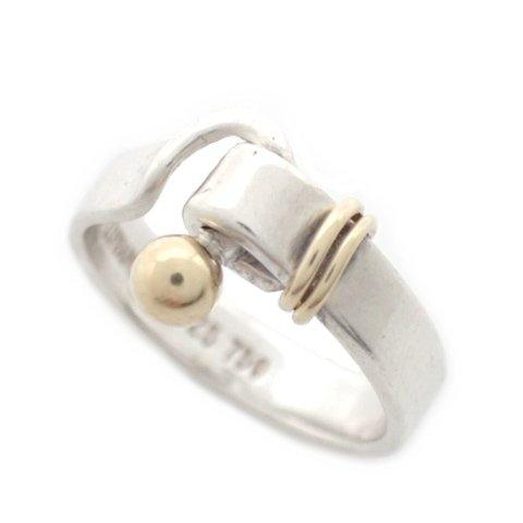 TIFFANY&CO.(ティファニー) フックアイリング 指輪 SV925×YG750 シルバー×イエローゴールド 金×銀 ★ 18030117【中古】【アラモード】 B07F1N1VS8