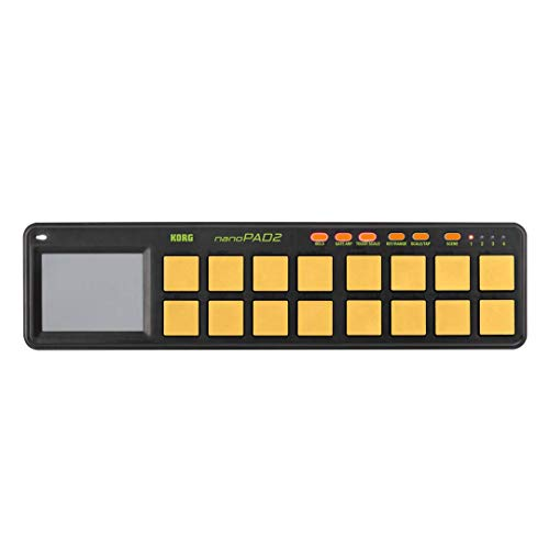 Korg nanoPAD2 - Orange/Green Limited Edition