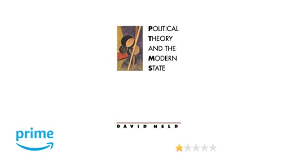 political theory and the modern state held david