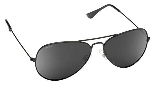 Cressi Nevada Sonnenbrille, Schwarz/Schwarz Linses, One Size