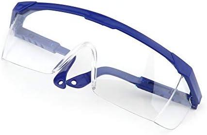 Arbeitssicherheit Augenschutzbrille Schutzbrille Laborstaubfarbe Dental Industrial Anti-Splash Wind Staubschutzbrille Blau