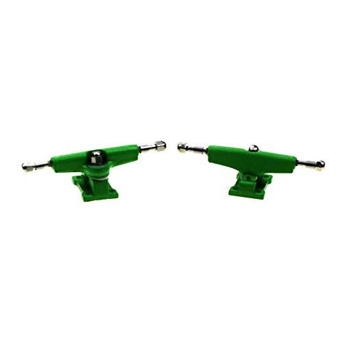 NOAHWOOD Fingerboards Parts PRO Common Trucks (34mm/Pivot Cups/Lock Nut/Green) ()