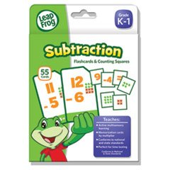 * LeapFrog Flash Cards, Subtraction, 4 3/4 x 6, 80 Cards