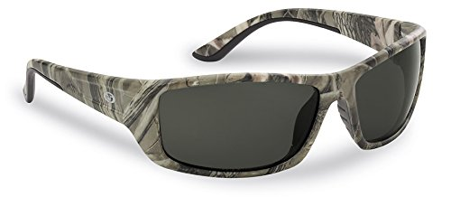 Flying Fisherman Buchanan Polarized Sunglasses with Crystal Gunmetal Frames