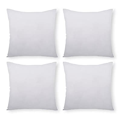 Phantoscope Throw Pillow Inserts Hypoallergenic Square Form Sham Stuffer