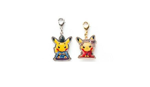 Pokemonsentaqieout only] metal charms maiko Han Pikachu ...