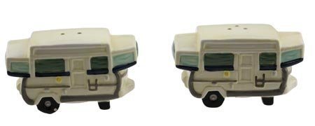Pop-Up Camper Salt & Pepper Shaker Set (Best Small Pop Up Camper)