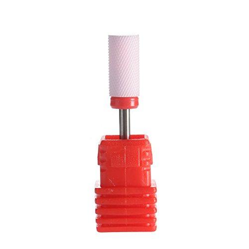 SpeTool Ceramic Nail Bits Rotary Burr Large Barrel Smooth Top 3/32
