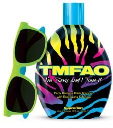 TMFAO Dark Bronzer with Energizing & Toning 12z FREE SUN GLASSES by Supre