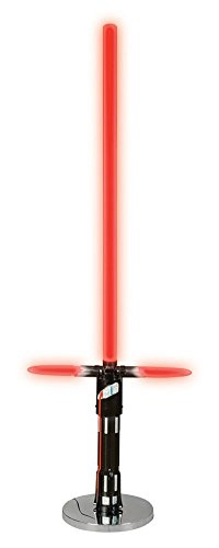 Disney Star Wars Lightsaber Floor Lamp, Red/Black/Silver by Disney