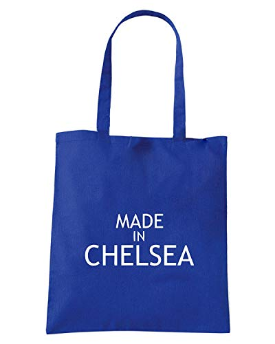 CHELSEA MADE Royal Borsa IN Shopper WC0481 Blu YqzWCwBxS