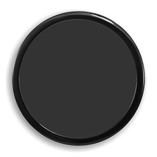 DEMCiflex Computer Dust Filter, 200mm OD Round, Black Frame/Black Mesh