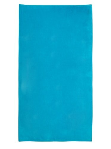 Turquoise Velour Pool Beach Towel 40x76 inches Made in Brazil by Bahia