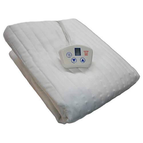 Electrowarmth M60Fd Short Queen Dual 2 Controls Heated Mattress Pad, 60-Inch by 74-Inch