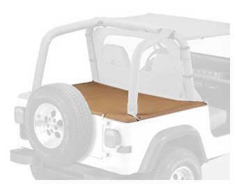 Bestop 90010-37 Spice Duster Deck Cover for 1992-1995 Wrangler with Hardtop Removed (Includes New Tailgate bar, Retainer Clips) by Bestop