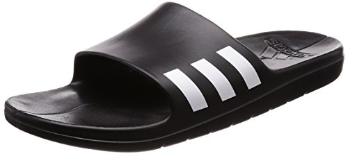 promo code 3dfbf a5c36 Galleon - Adidas Aqualette Slides BlackWhite- 9 UK