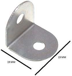 3//4 500 X WORKTOP BRACKETS BZP STEEL MINI 19mm SQUARE