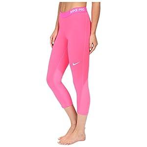 Nike Women's Pro Cool Capris Hyper Pink Medium