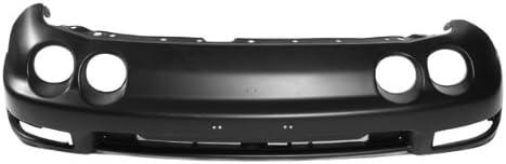 Carpartsdepot Front Bumper Cover Black PP Plastic Primed 2dr 4dr Replacement 352-10101-10-PM AC1000128 04711ST7A90ZZ