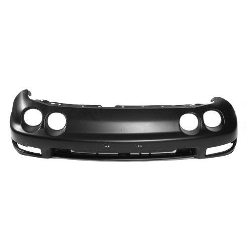 Carpartsdepot, Front Bumper Cover Black PP Plastic Primed 2dr 4dr Replacement, 352-10101-10-PM AC1000128 04711ST7A90ZZ