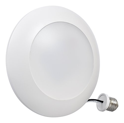 (Sylvania Home Lighting 75046 Light Disk Sylvania Ultra LED 85w Equivalent, Dimmable, Efficient 13W, Daylilght 5000K)