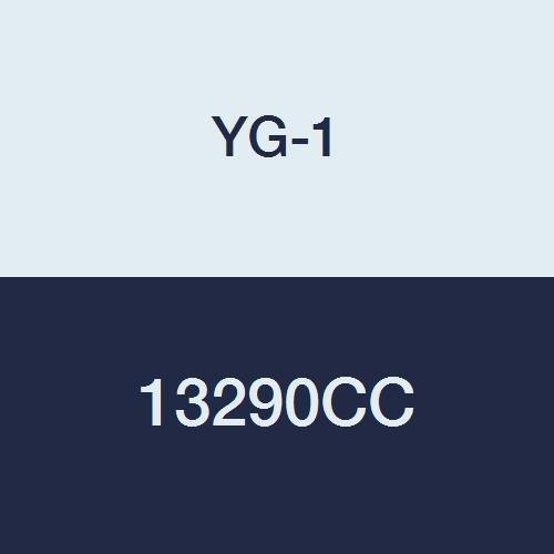 YG-1 13290CC HSSCo8 End Mill 3-1//8 Length 9//64 Center Cutting Double 4 Flute Regular Length TiCN Finish