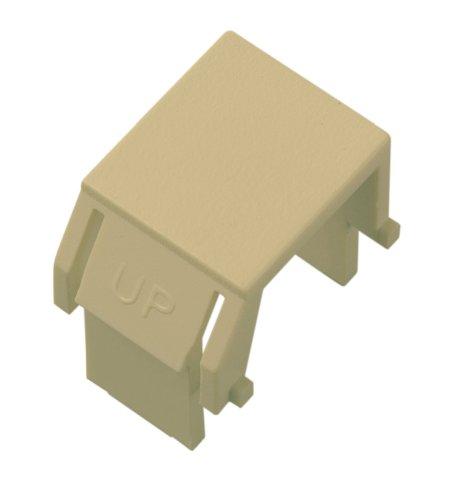 On-Q Legrand WP3455-IV Blank Keystone Modular Insert, Ivory, (10 Pack) Ivory Blank Keystone Insert