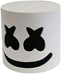 myonly - Máscara de Cabeza Marshmello con luz LED para Barra ...