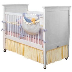 classic colors porta crib dust ruffle