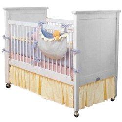 classic colors porta crib dust ruffle - Porta Crib