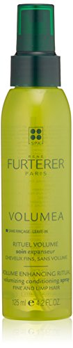(Rene Furterer VOLUMEA Volumizing Conditioning Spray, Fine Limp Hair, Thickening,  Long Lasting Volume, Sulfate Free, 4.2 oz. )