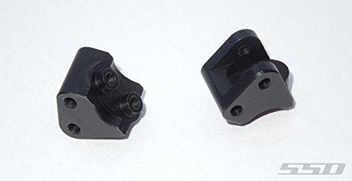 SSD RC Aluminum Link Mounts for SCX10 II (Black)