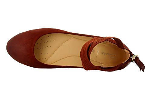 CLARKS Chaussures 26131120 Rouille Anna Grace Gran