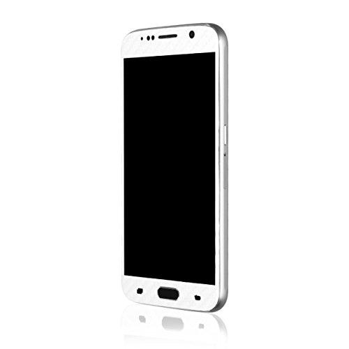 AppSkins Vorderseite Samsung Galaxy S6 Carbon pearl