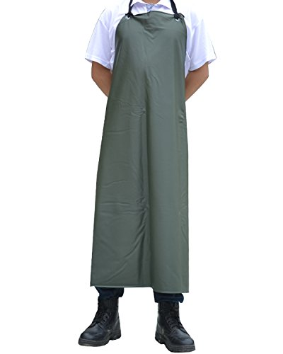 - Surblue Chemical Resistant Work Safe Apron (green)
