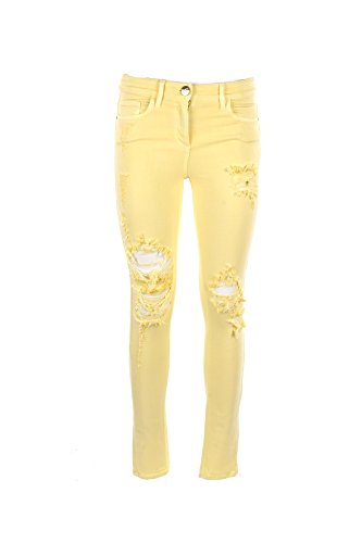 Primavera Pj14i81e2 FRANCHI Jeans 26 JEANS Estate Donna ELISABETTA 2018 Giallo xwT0UBqnn