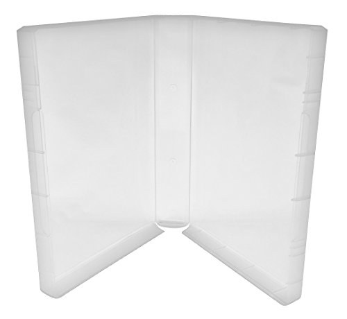 (25) CheckOutStore Plastic Storage Cases for Wood Mounted Rubber Stamps (Clear/Spine: 40 mm) (40 Spine)