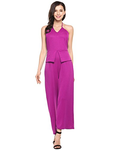 ANGVNS Sleeveless Jumpsuits Rompers Overall