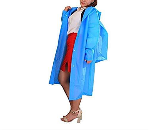 8 Poncho 2 Réutilisable Q À Extérieur couleur Battercake Et Pluie Casual Manteau De Avec Dos Imperméable Sac Dame Portatif Xl Capuchon RdUwq